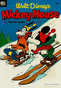 Cover Thumbnail for Mickey Mouse (Dell, 1952 series) #28