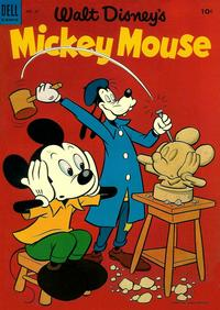 Cover Thumbnail for Mickey Mouse (Dell, 1952 series) #35