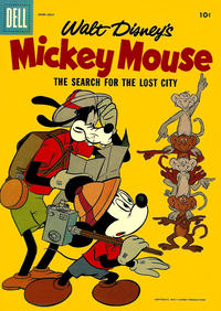Cover Thumbnail for Mickey Mouse (Dell, 1952 series) #54