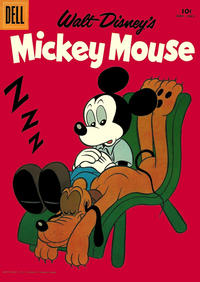 Cover for Mickey Mouse (Dell, 1952 series) #60