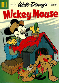 Cover Thumbnail for Mickey Mouse (Dell, 1952 series) #65