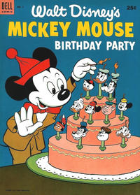 Cover Thumbnail for Mickey Mouse Birthday Party (Dell, 1953 series) #1