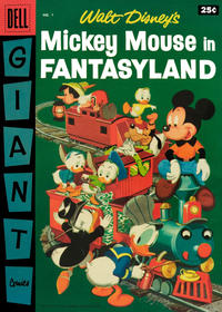 Cover Thumbnail for Mickey Mouse in Fantasyland (Dell, 1957 series) #1