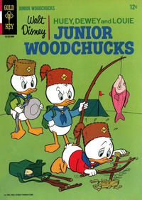 Cover Thumbnail for Walt Disney Huey, Dewey and Louie Junior Woodchucks (Western, 1966 series) #1