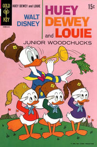 Cover Thumbnail for Walt Disney Huey, Dewey and Louie Junior Woodchucks (Western, 1966 series) #3