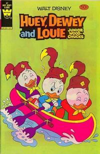 Cover Thumbnail for Walt Disney Huey, Dewey and Louie Junior Woodchucks (Western, 1966 series) #67 [50-Cent Variant]