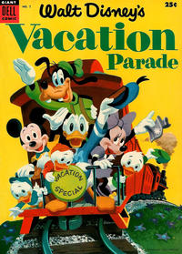 Cover for Walt Disney's Vacation Parade (Dell, 1950 series) #5