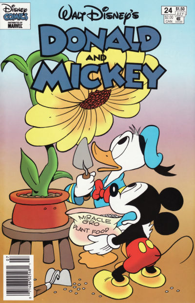 Cover for Walt Disney's Donald and Mickey (Gladstone, 1993 series) #24