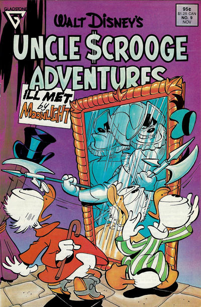 Cover for Walt Disney's Uncle Scrooge Adventures (1987 series) #9