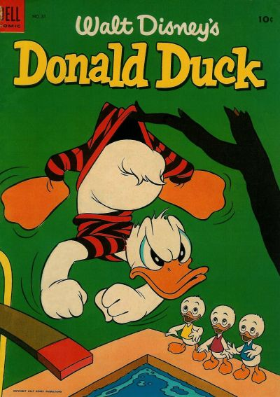 Cover for Donald Duck (1952 series) #31