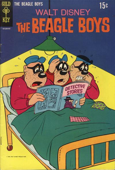 Cover for Walt Disney The Beagle Boys (Western, 1964 series) #8