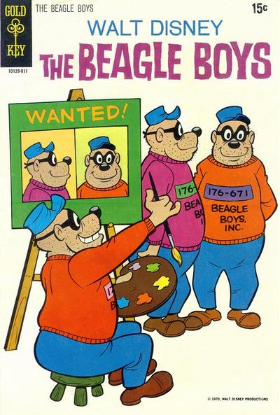 Cover for Walt Disney The Beagle Boys (Western, 1964 series) #10