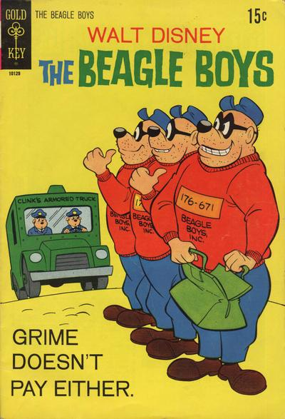 Cover for Walt Disney The Beagle Boys (Western, 1964 series) #11