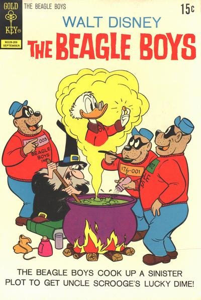 Cover for Walt Disney The Beagle Boys (Western, 1964 series) #14 [Whitman]