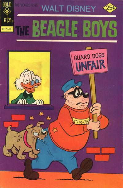 Cover for The Beagle Boys (1964 series) #25