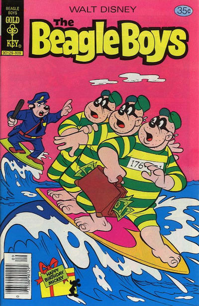 Cover for Walt Disney The Beagle Boys (Western, 1964 series) #44 [Gold Key]
