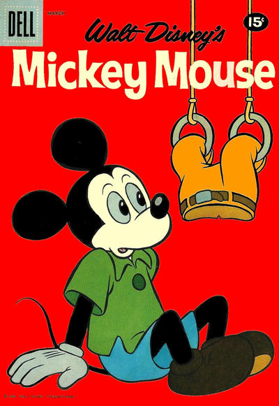 Cover for Mickey Mouse (Dell, 1952 series) #76