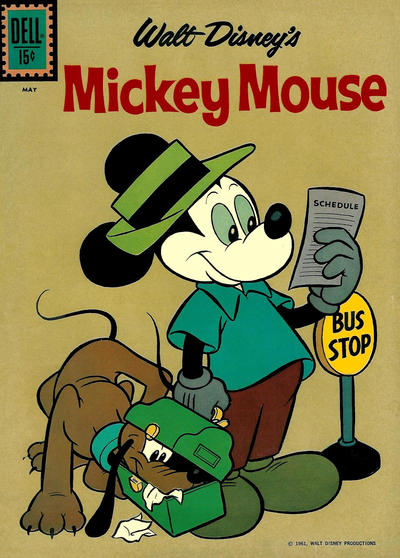 Cover for Mickey Mouse (Dell, 1952 series) #77