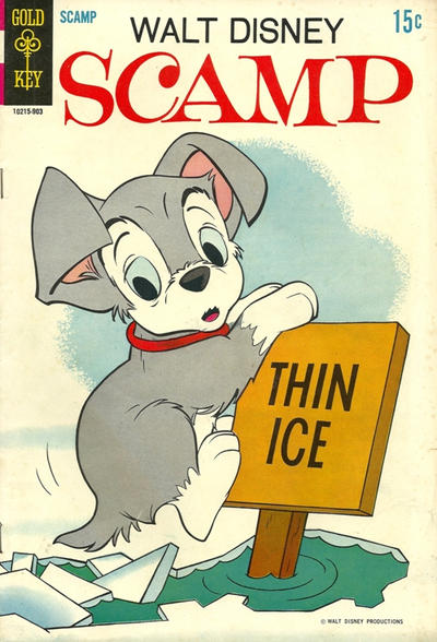 Cover for Walt Disney Scamp (Western, 1967 series) #2