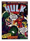 Cover for Hulk Comic (Marvel UK, 1979 series) #46