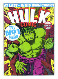 Cover Thumbnail for Hulk Comic (Marvel UK, 1979 series) #1