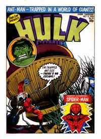 Cover Thumbnail for Hulk Comic (Marvel UK, 1979 series) #33