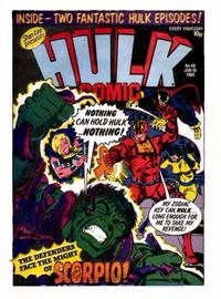 Cover Thumbnail for Hulk Comic (Marvel UK, 1979 series) #46