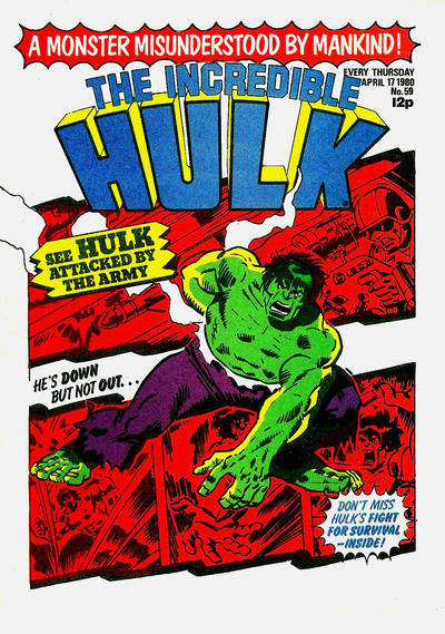 Cover for The Incredible Hulk (1980 series) #59