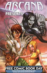 Cover Thumbnail for Arcana Presents (Arcana, 2008 series) #[2008]