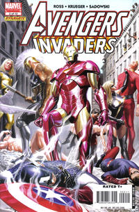 Cover Thumbnail for Avengers/Invaders (Marvel, 2008 series) #2