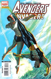 Cover Thumbnail for Avengers/Invaders (Marvel / Dynamite Entertainment, 2008 series) #3
