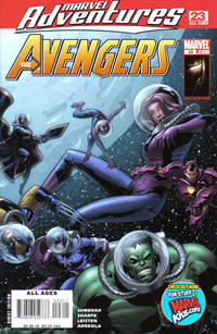 Cover Thumbnail for Marvel Adventures The Avengers (Marvel, 2006 series) #23