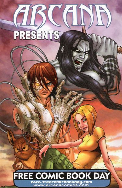 Cover for Arcana Presents (Arcana, 2008 series) #[2008]