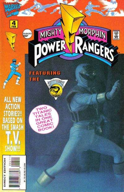Cover for Saban&#39;s Mighty Morphin Power Rangers (1995 series) #4