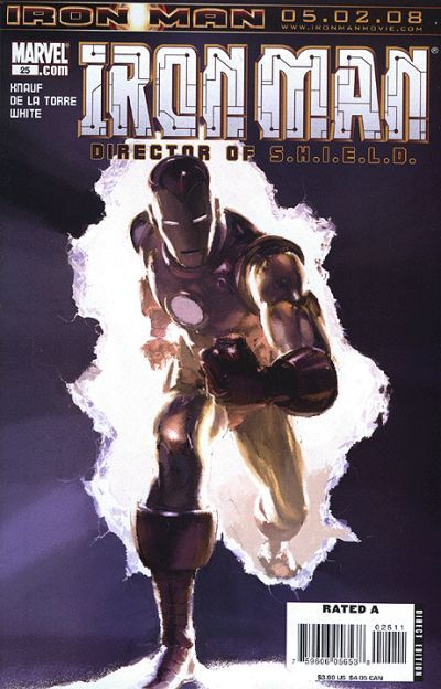 Cover for The Invincible Iron Man (Marvel, 2007 series) #25