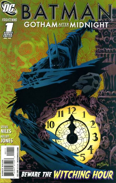 Cover for Batman: Gotham After Midnight (DC, 2008 series) #1