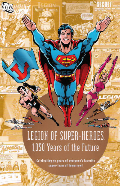Cover for Legion of Super-Heroes: 1,050 Years of the Future (DC, 2008 series)