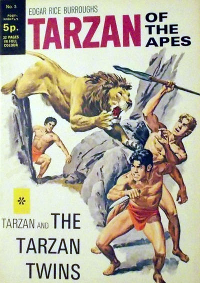 Cover for Edgar Rice Burroughs Tarzan of the Apes (1970 series) #3