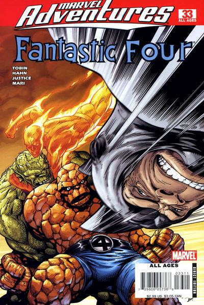 Cover for Marvel Adventures Fantastic Four (2005 series) #33