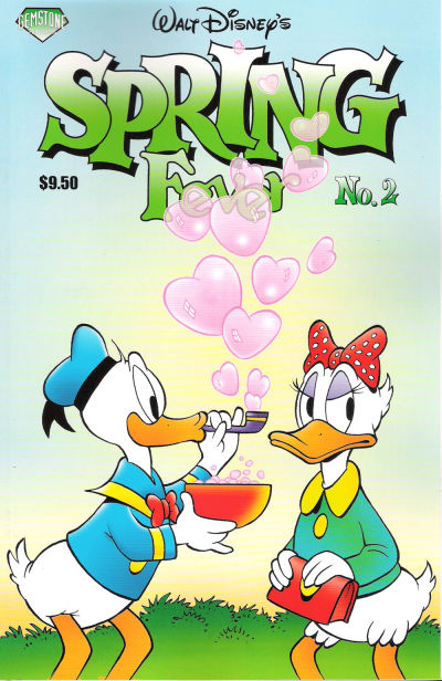 Cover for Walt Disney&#39;s Spring Fever (2007 series) #2
