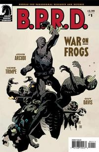 Cover Thumbnail for B.P.R.D.: War on Frogs (Dark Horse, 2008 series) #1
