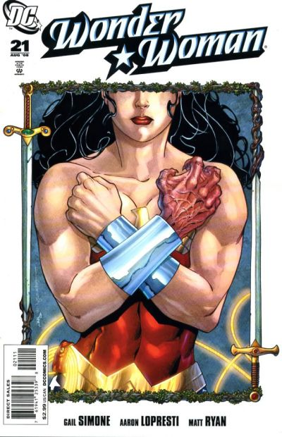Cover for Wonder Woman (2006 series) #21