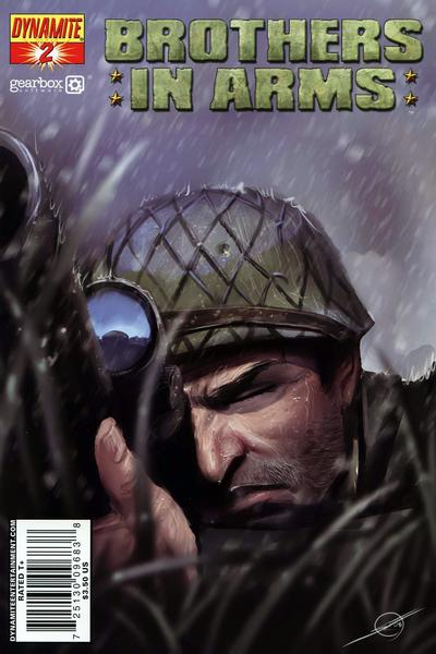 Cover for Brothers in Arms (2008 series) #2