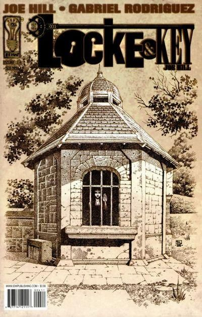Cover for Locke &amp; Key (2008 series) #4