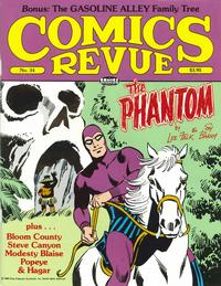 Cover for Comics Revue (Manuscript Press, 1985 series) #34