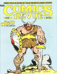 Cover for Comics Revue (Manuscript Press, 1985 series) #38