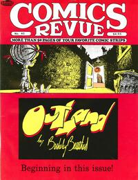 Cover for Comics Revue (Manuscript Press, 1985 series) #40