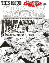 Cover Thumbnail for Comics Revue (Manuscript Press, 1985 series) #96