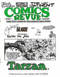 Cover for Comics Revue (Manuscript Press, 1985 series) #104