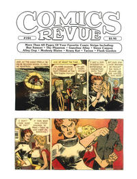 Cover for Comics Revue (Manuscript Press, 1985 series) #184
